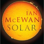 shows the cover of the book, Solar, by Ian McEwan